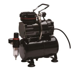 China 1/5HP Piston Miniature Air Compressor For Airbrush Painting With Single Cylinder supplier
