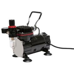 China TC-802 Compact Air Compressor , Oil Free Airbrush Mini Compressor For Painting supplier