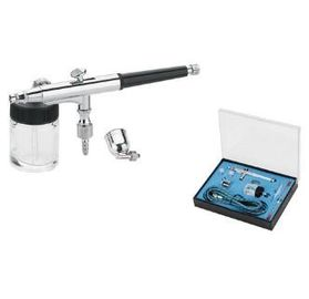 China Professional Airbrush Painting Equipment , Model Airbrush Set CE Approved AB-134K supplier