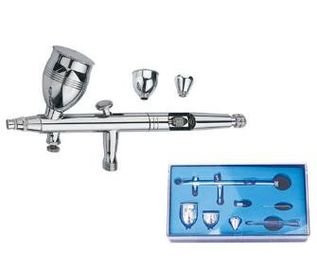 China Safety Professional Airbrush Set Double​ Action Trigger Air Paint Control AB-186 supplier
