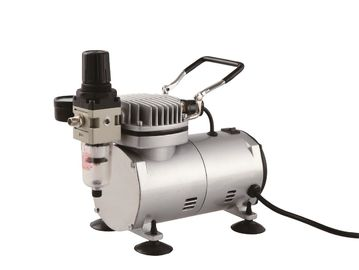 China Mini Portable Air Compressor , Airbrush Air Compressor With Tank TC-20C factory