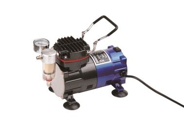 China Small Mini Electric Vacuum Pump , Portable Air Compressor For Airbrush TC-88 factory